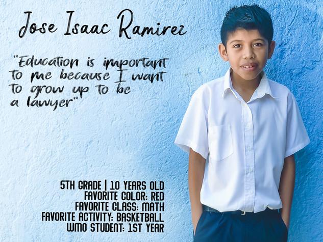 JOSE ISAAC RAMIREZ F