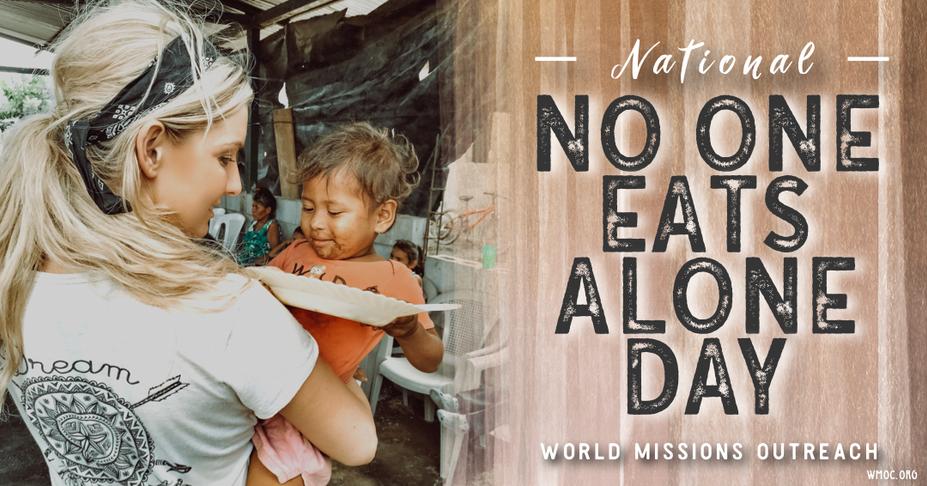 Humanitarian Amanda Sowards No One Eats Alone