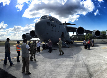 US Ambassador & Military Deliver Food to WMO in Nicaragua