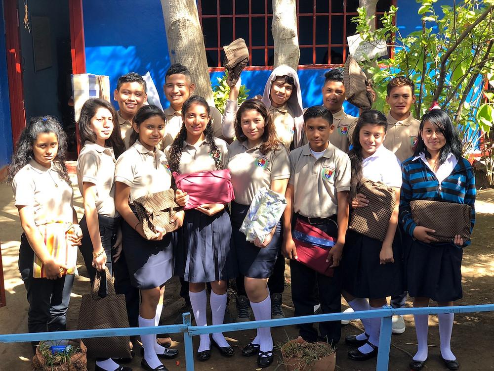 Nicaragua High School Students