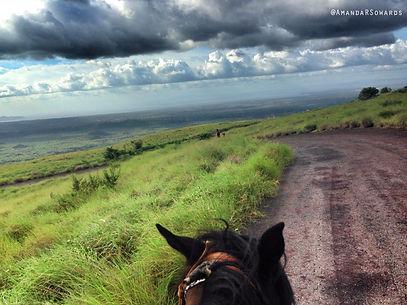 Horse Riding Tours at Masaya Volcano Nicaragua