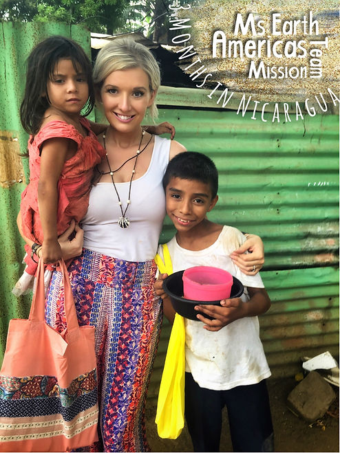 Ms Earth Americas Nicaragua Mission Trip