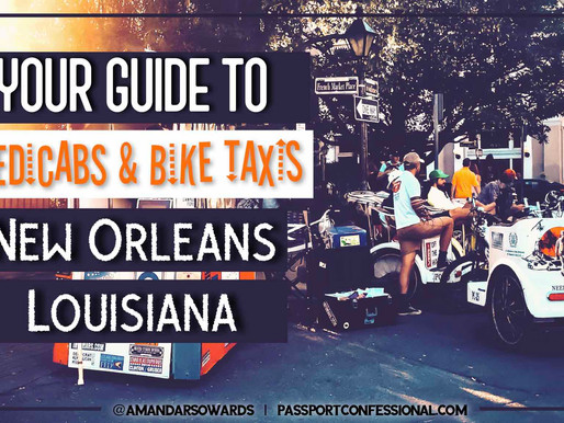 Pedicabs and Bike Taxis in New Orleans