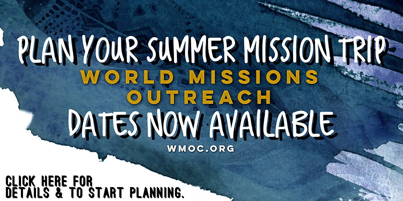 Best Summer Mission Trip World Missions