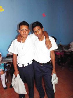 Abraham & Kelvin in Class