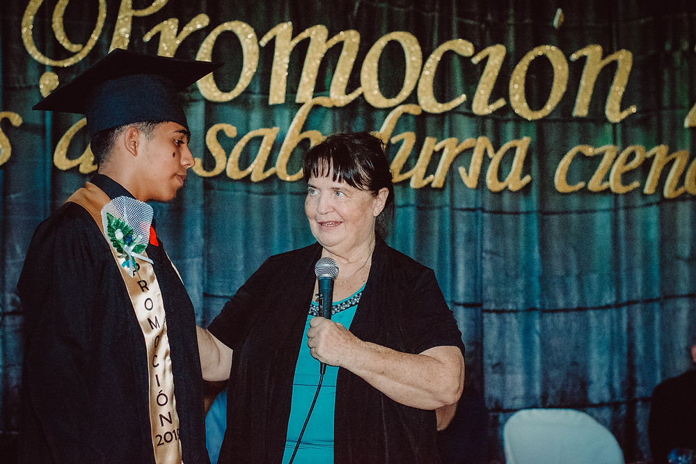 World Missions Outreach Graduation Donna Wight