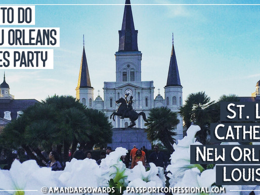 What To Do in New Orleans Besides Party | St Louis Cathedral