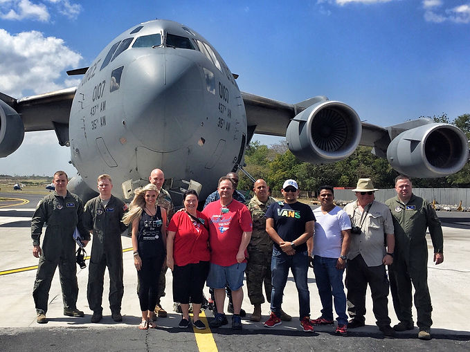 US Military delivers food to Nicaragua