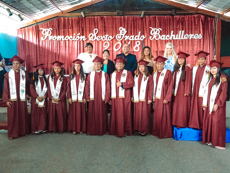 Graduating 2019 at World Missions Outreach in Nicaragua