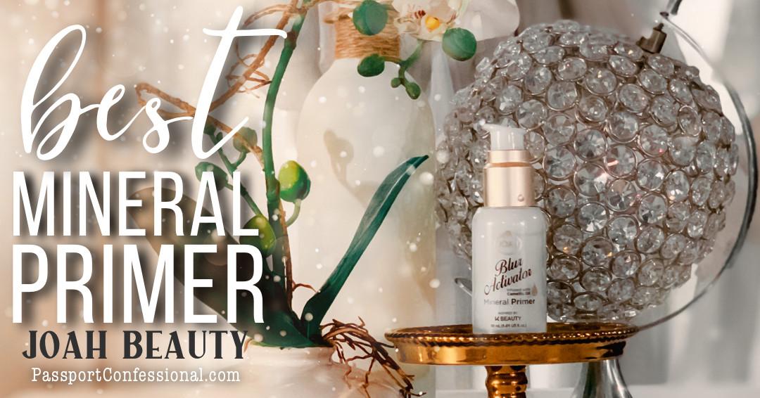Best Mineral  Primer JOAH Beauty Blur Primer Review