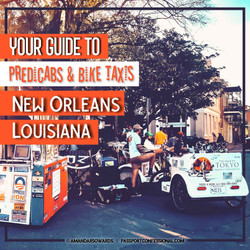 Pedicabs and Bike Taxis New Orleans
