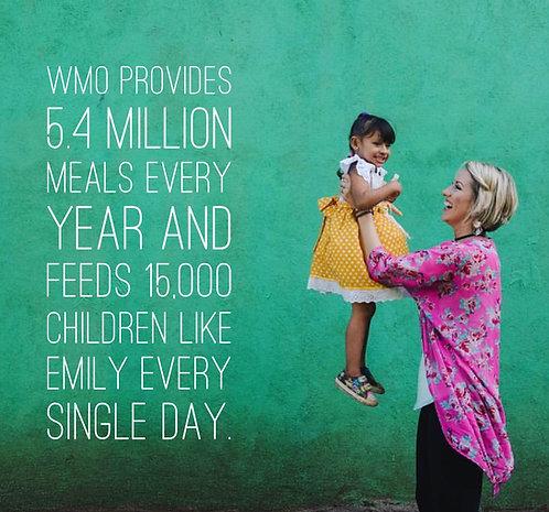 Sponsor a Feeding Program for a Month