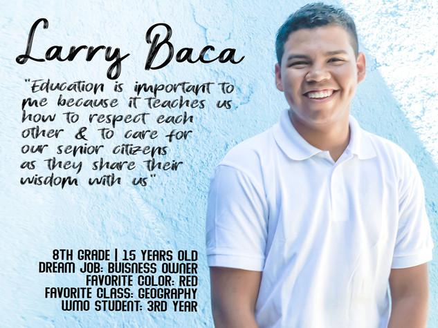 LARRY ULISES BACA ARAICA