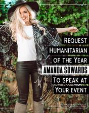 Request Amanda Sowards To Speak