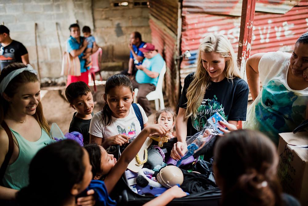 Amanda Sowards Humanitarian of the year