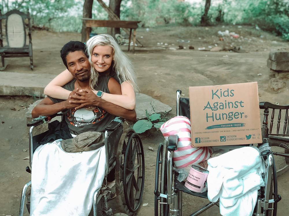 Amanda Sowards Humanitarian Nicaragua