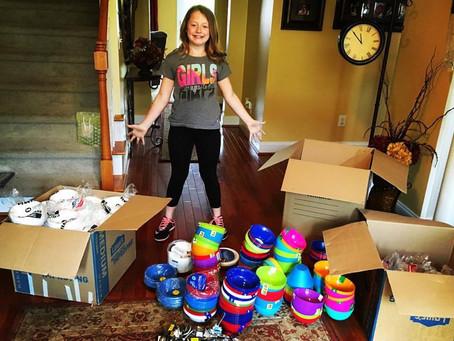Volunteer Shoutout - KK's Bowl Drive was a Success!