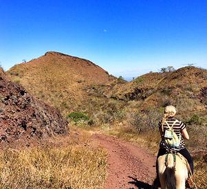 Horseback Riding Up Masaya Volcano