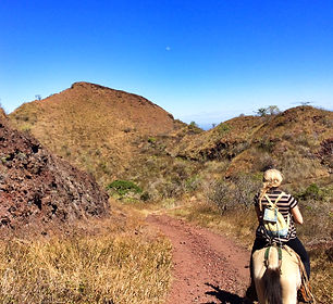 Horseback Riding Up Masaya Volcano