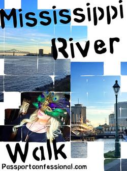 Mississippi Riverwalk New Orleans