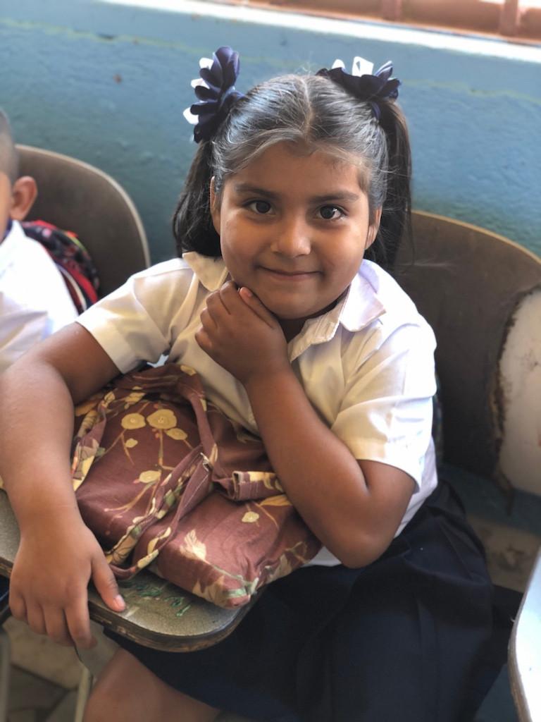 Nicaragua elementary students