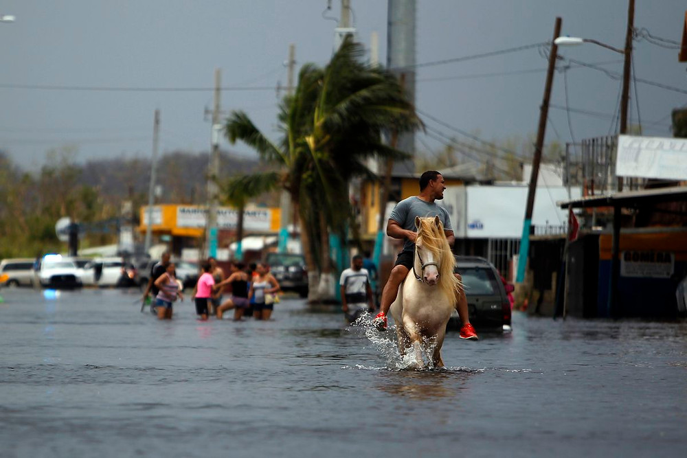 flooding in puerto rico after hurricane maria