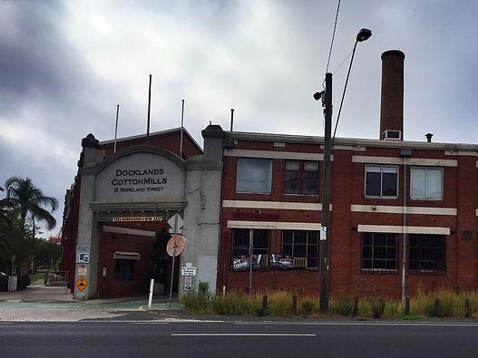 Docklands Cotton Mills Footscray melbourne australia