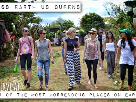 Miss Earth US Team Serves at '1 of the Most Horrendous Places on Earth'