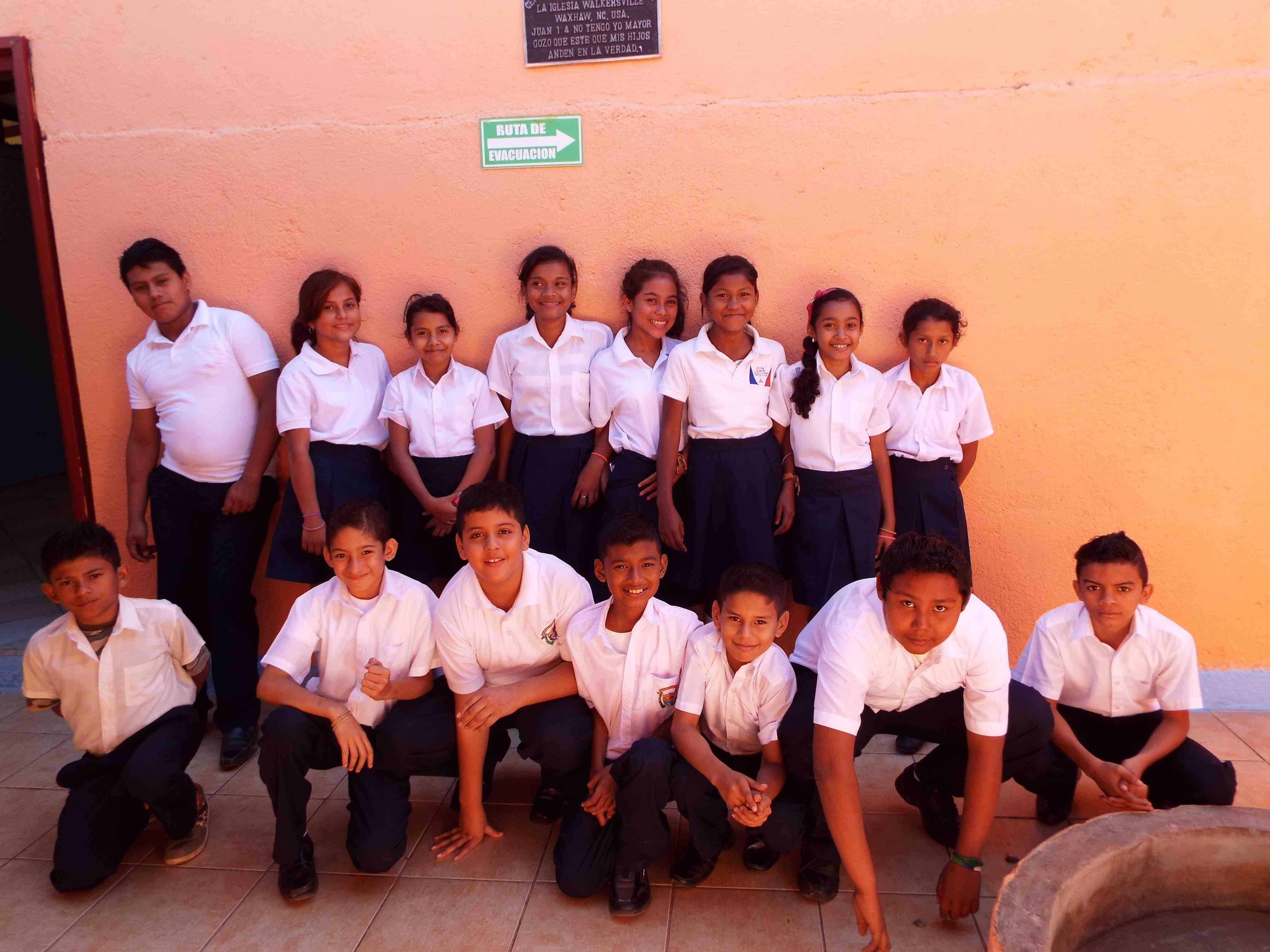 2015 - 6th Grade class
