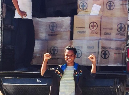 2.7 Million Meals Delivered to WMO in Nicaragua in February 2016