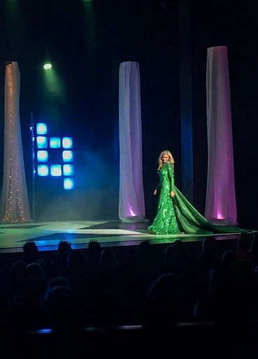 Amanda Sowards Miss NC United States Evening Gown