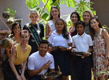 Miss Earth United States Teaches Students in Nicaragua a Life Changing Lesson