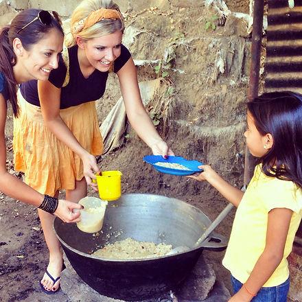 Nicaragua Mission Team Feeding Program