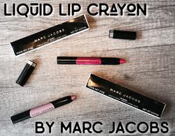 Marc Jacobs Lip Crayon Review