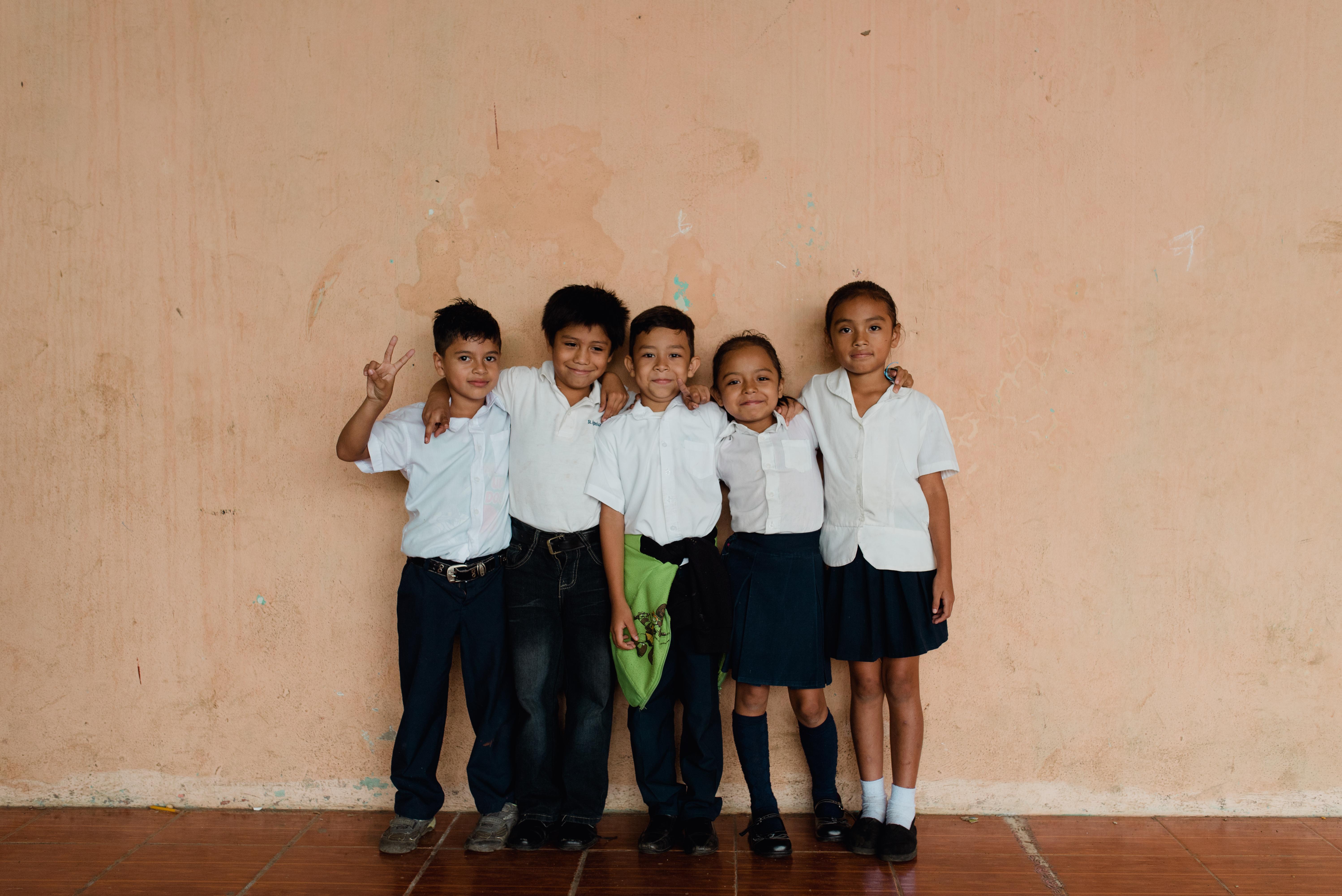 Fun with classmates!