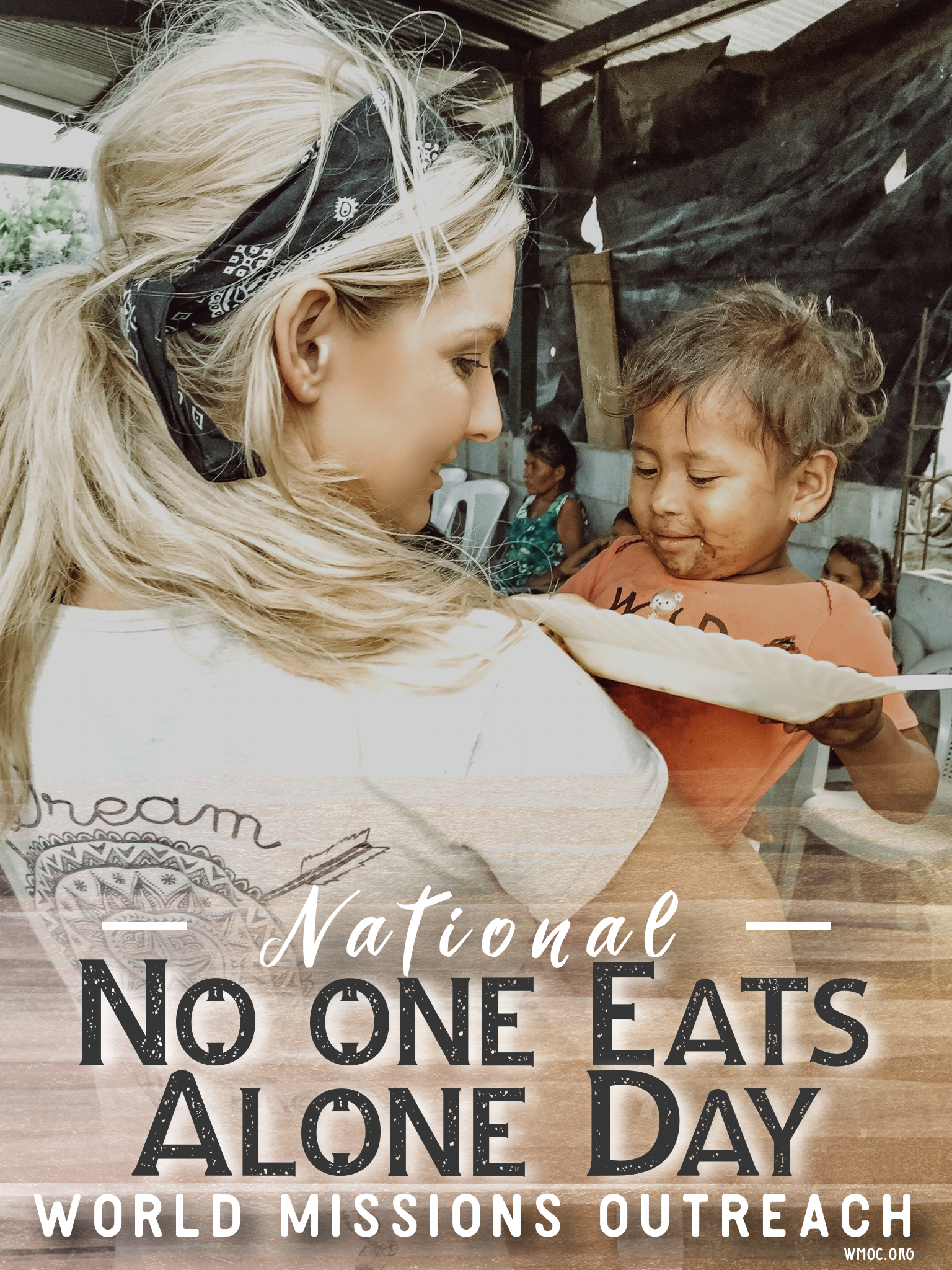 No one Eats Alone Day Amanda Sowards
