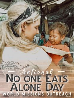 No one Eats Alone Day Amanda Sowards