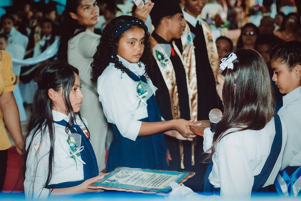 Nicaragua World Missions Outreach Graduation