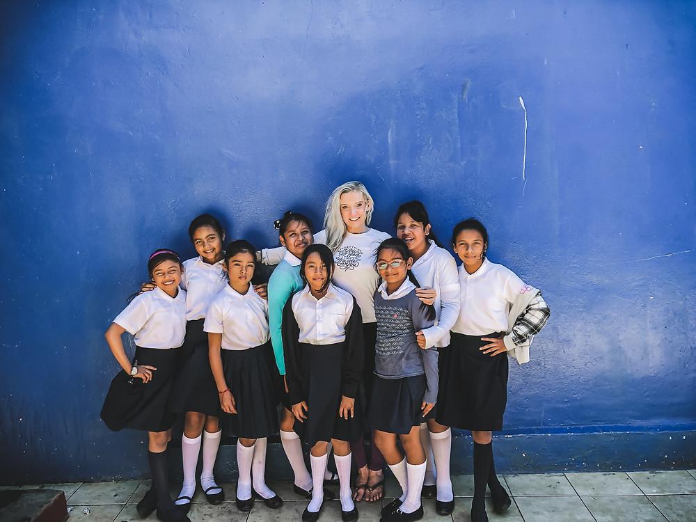Amanda Sowards Humanitarian of the year Nicaragua