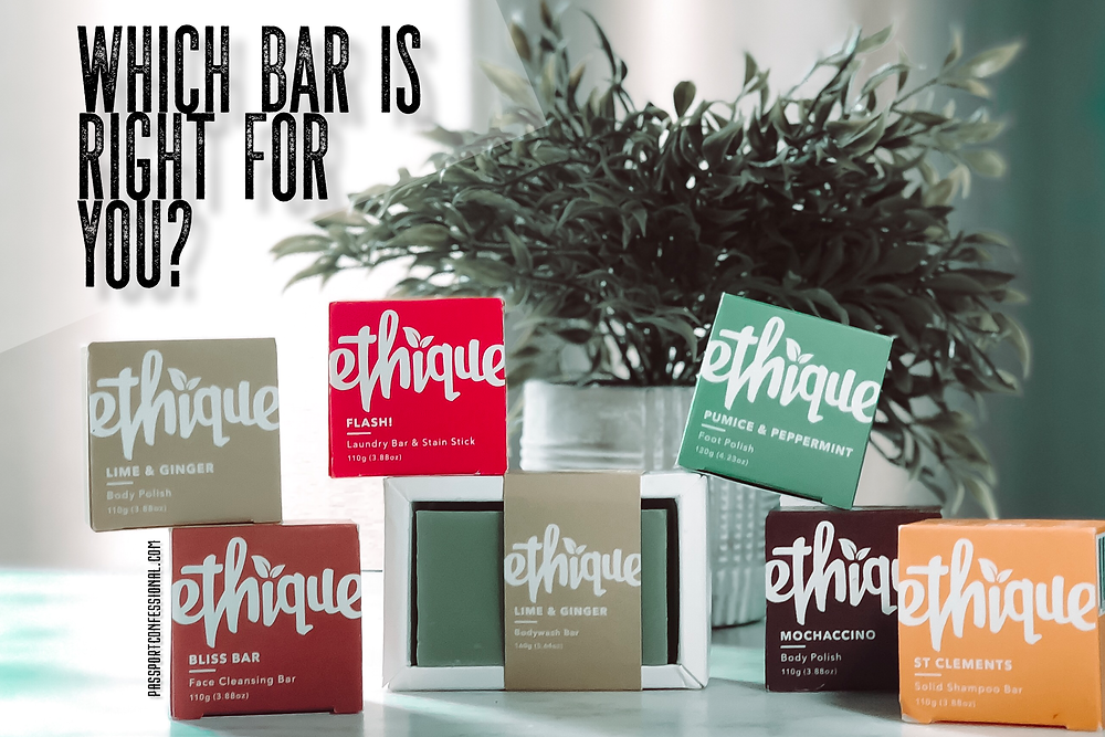 Best plastic free beauty products ethique
