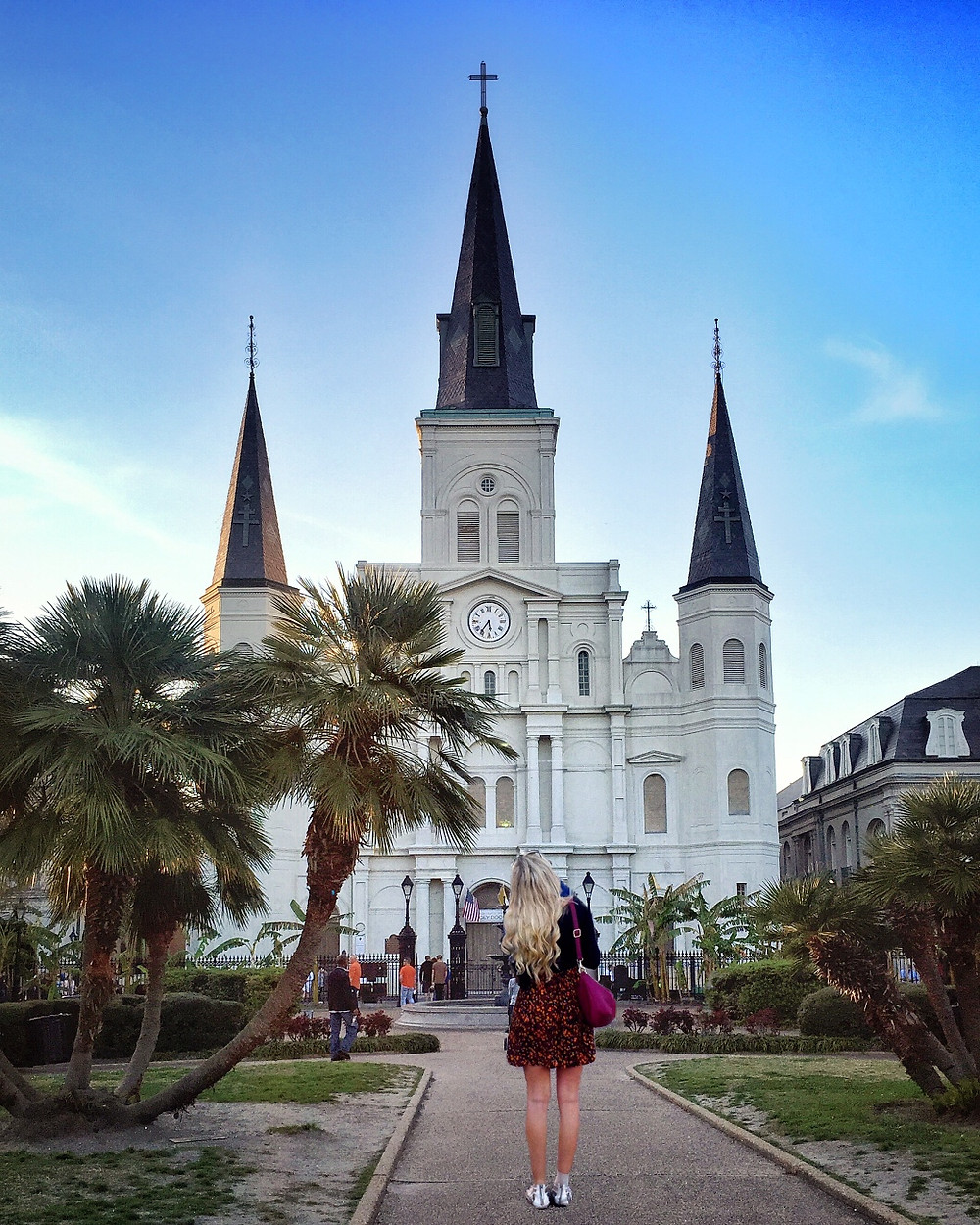 St Louis Cathedral with Amanda Sowards