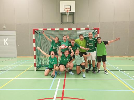 Team Groen wint mixtoernooi