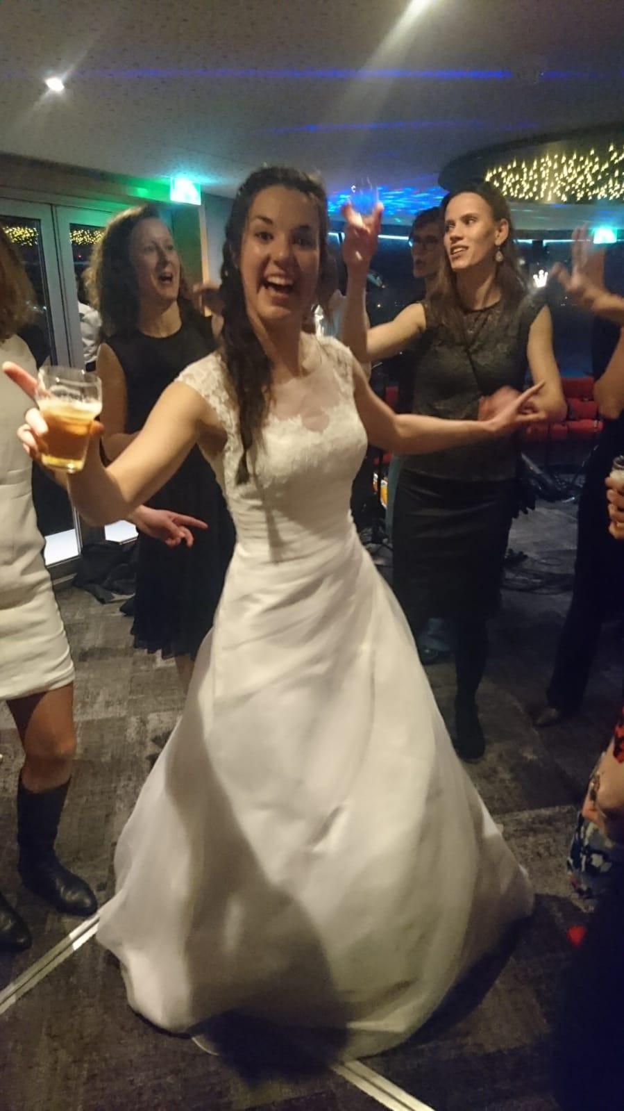 Nienke was de bruid!