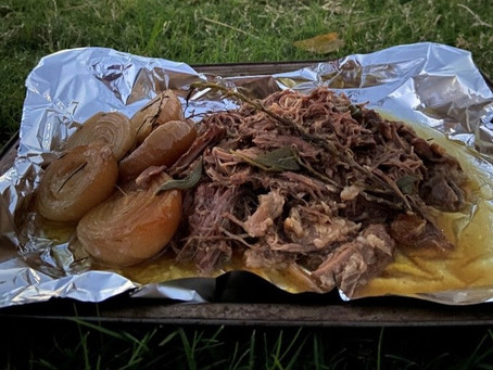 Easy-As Camping Recipe: Slow Cooked Beef