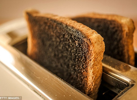 Burnt Toast Needs More Than a Sprinkling ofGrace