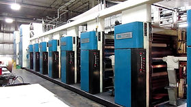 M 1000B Heatset Web Offset press printing
