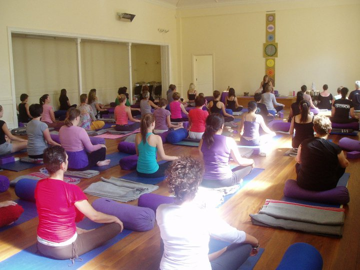 Nearly 50 students!  - Yoga Spirit