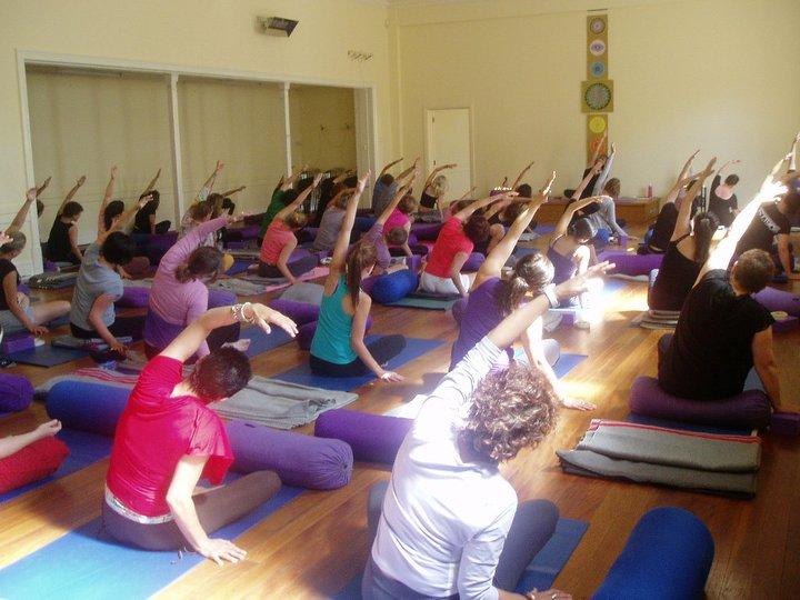 Nearly 50 students! - Yoga Spirit