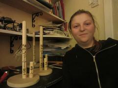 Making the 'Sticks'