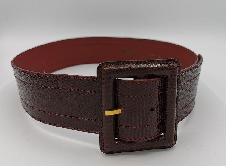 Beautiful Yves Saint Laurent Wide Leather Belt